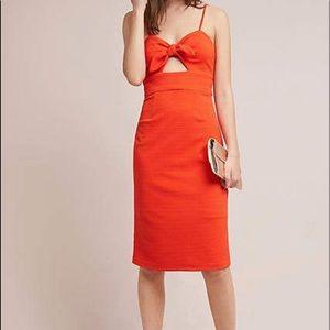 Hutch orange dress